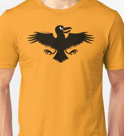 Halloween Naughty Crow Unisex T-Shirt