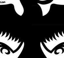 Halloween Naughty Crow Sticker