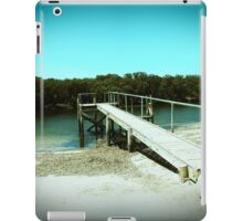 Jetty to a salty creek iPad Case/Skin