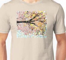 Beautiful Tree Sideways Unisex T-Shirt