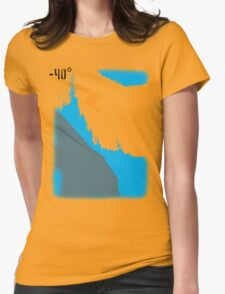 Cliff Drop 2 Womens Fitted T-Shirt