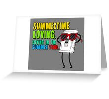 Regular Show - Summer Time Loving, Loving in the summer (Time) Greeting Card