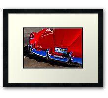 Classic Caddy Framed Print