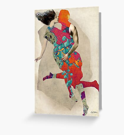 Love is a Tango Greeting Card