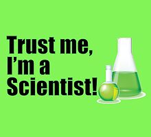 Trust Me I'm a Scientist Lab Technician Bottles Quote by CreativeTwins