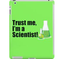 Trust Me I'm a Scientist Lab Technician Bottles Quote iPad Case/Skin