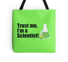 Trust Me I'm a Scientist Lab Technician Bottles Quote Tote Bag