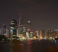 Brisbane Australia: Brisbane River / CBD by Claude Raiola
