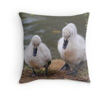 So Little Brother As I Was Saying ....... Throw Pillow