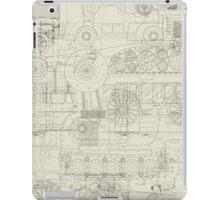 Seamless pattern vehicles design iPad Case/Skin