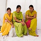 Punjabi women by Alex Howen