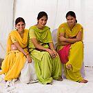 Punjabi women by Alexander Meysztowicz-Howen