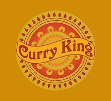 Curry King Indian Chef Eastern Asian Cuisine Lover by CreativeTwins