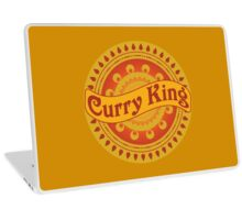 Curry King Indian Chef Eastern Asian Cuisine Lover Laptop Skin