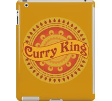 Curry King Indian Chef Eastern Asian Cuisine Lover iPad Case/Skin