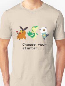 5th Gen Starters Unisex T-Shirt