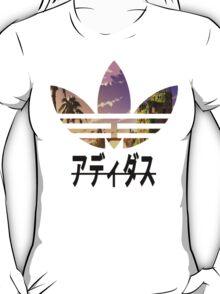 Adidas pixelated landscape T-Shirt
