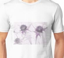 Purple thistle Unisex T-Shirt