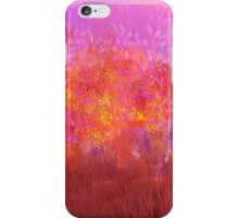 Flowers in Sunset iPhone Case/Skin