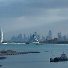 Dubai Cityscape by Craig Scarr
