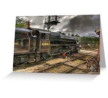 Levisham Crossing Greeting Card