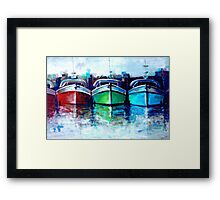 The Trio 3.0 Framed Print