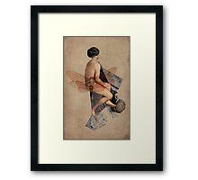 Venus Collage Framed Print