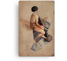 Venus Collage Canvas Print