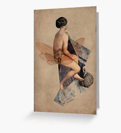 Venus Collage Greeting Card
