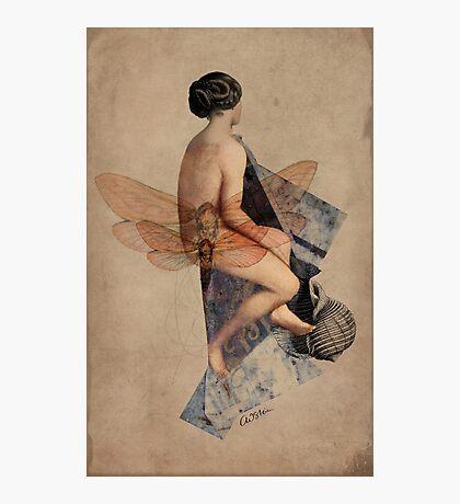 Venus Collage Photographic Print