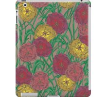 Totally Tulips (natural) iPad Case/Skin