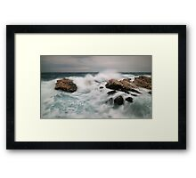 ocean force Framed Print