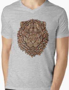 Lion (Royal) Mens V-Neck T-Shirt