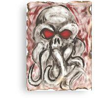Cthulhu Calls Canvas Print