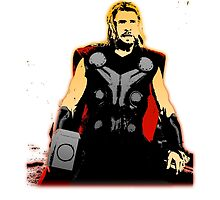 Avengers: Age of Ultron - Thor by MikeTheGinger94