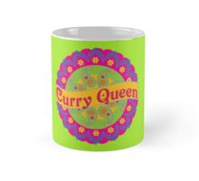 Ethnic Print Curry Queen Spicy Curries Food Addict Mug