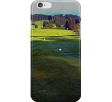 Summer morning at the golf club 3 | landscape photography iPhone Case/Skin