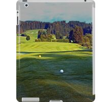 Summer morning at the golf club 3 | landscape photography iPad Case/Skin