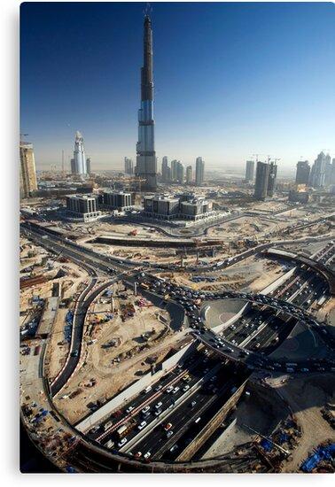 Burj Dubai by Craig Scarr