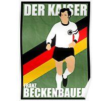 Franz Beckenbauer Poster