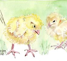 Solly's chicks by Maree  Clarkson