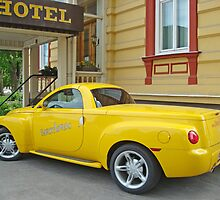 Yellow Chevrolet by Paola Svensson