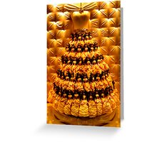 Yellow Doll Dress  Greeting Card