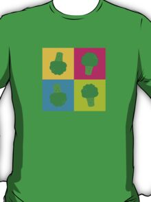 Popart Funny, Broccoli T-Shirt