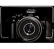 Canon Rebel T3 front Photographic Print