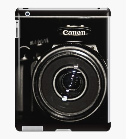 Canon Rebel T3 front iPad Case/Skin