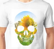 Skull Sunflower Unisex T-Shirt