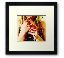 American Woman Framed Print