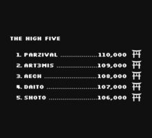 The High Five (White Text) by chubbyblade