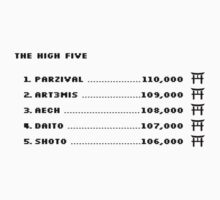 The High Five (Black text) by chubbyblade